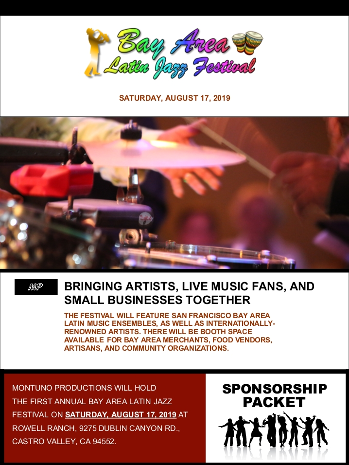 Bay Area Latin Jazz Festival Sponsorship Packet 121718 NP 001